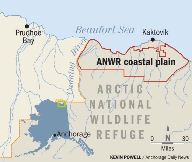 Anwr Alaska Map.Public Comment Period For Drilling In Arctic National Wildlife